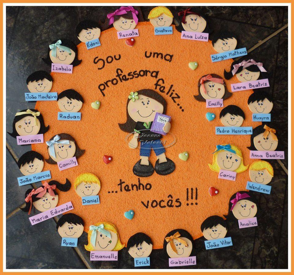 Well-known Chamadinha fofa | Cartazes EVA | Pinterest | Escola, Educação e  IV69
