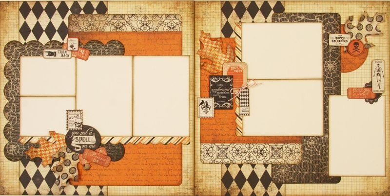 Cute Layout With Images Scrapbook Layout Sketches Fall Scrapbook Layouts Scrapbooking Layouts