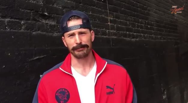 Chris Evans From Deflategate Video Jimmy Kimmel Live Feb 2015 Chris Evans Ben Affleck Chris