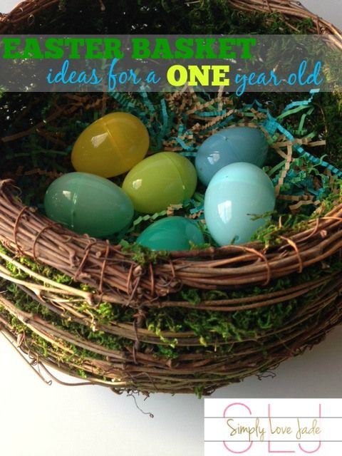 Easter basket ideas for a 1 year old spring forward pinterest easter basket ideas for a 1 year old negle Choice Image