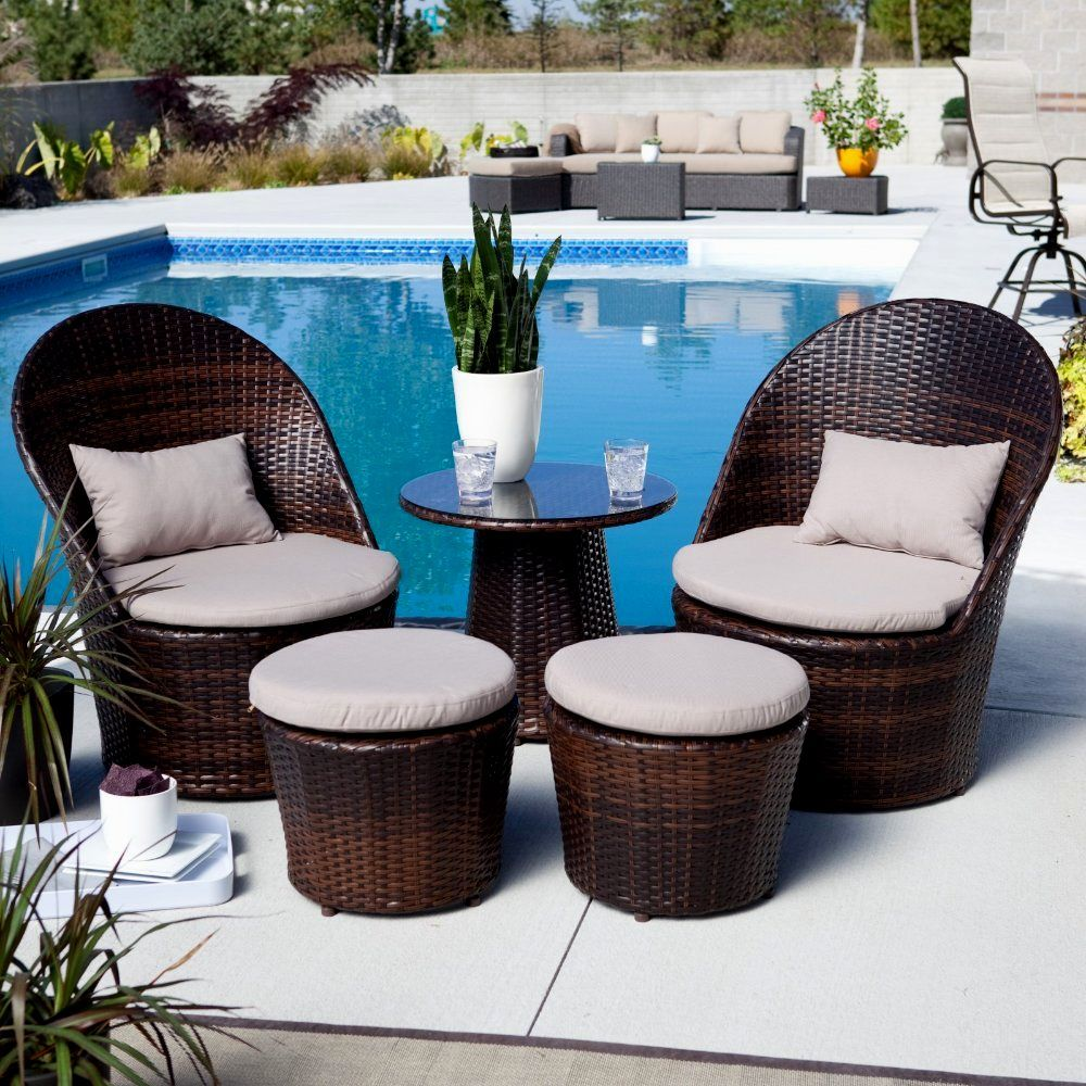 Furnitures Wonderful Ideas For Condo Balcony Furniture Along With Unique Wicker Sets White Covers Around Swimming Pool Together Gl