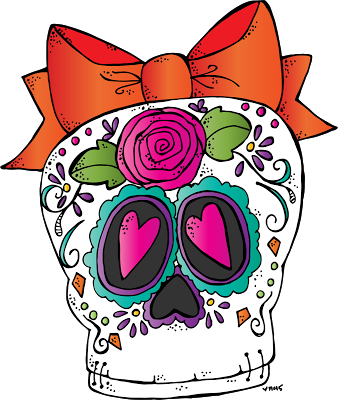 Sugar Skull Freebie 2015 Dia de muertos, Calaveritas