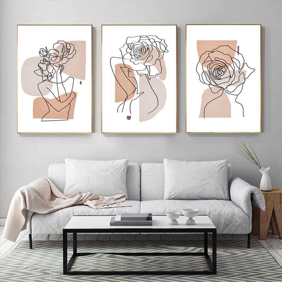23+ Cuadros para decorar casas minimalistas ideas
