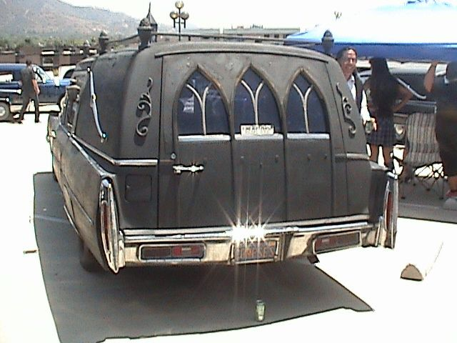 Gothic Hearse 1975 Mm Wicked Rides Vehicles Flower