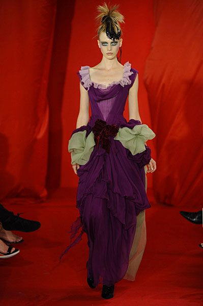 CHRISTIAN LACROIX HAUTE COUTURE – FALL WINTER 2008