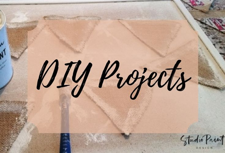 A Collection of DIY projects for around the house
