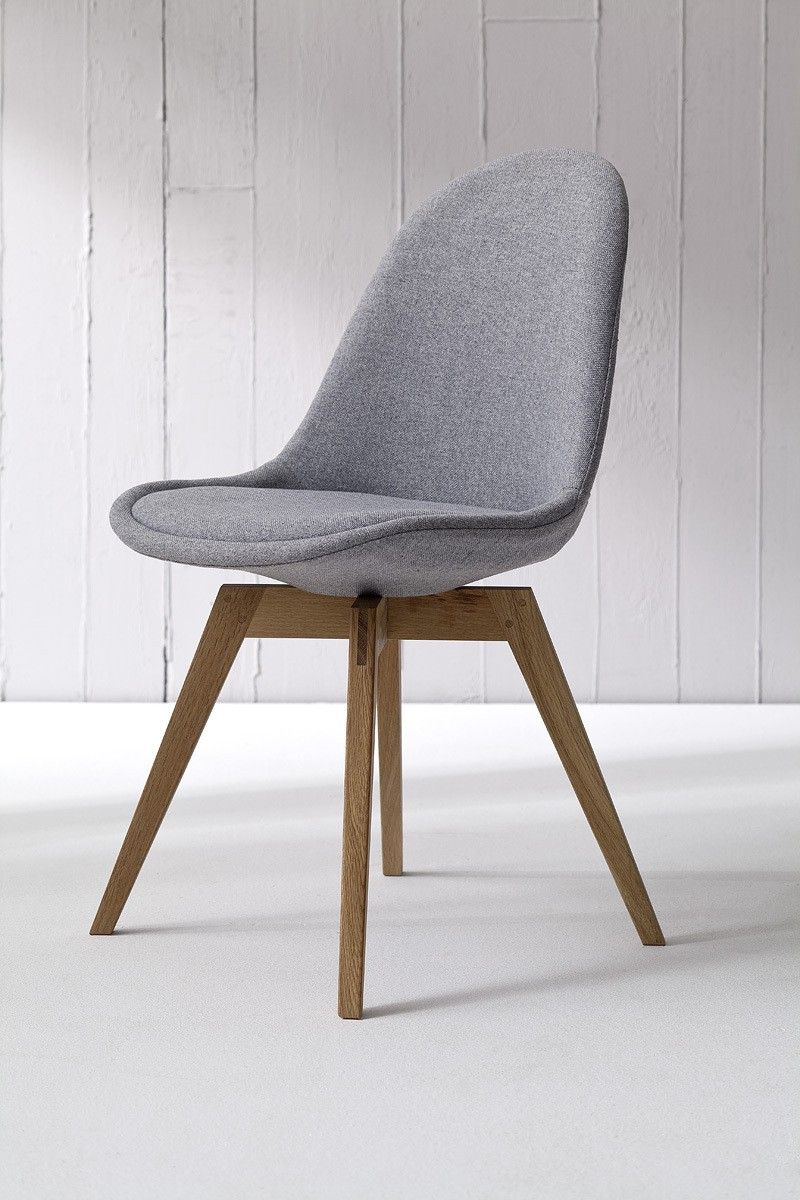 Tenzo Stuhl BESS fabric grau/eiche 2er Set | Esszimmer, Stuhl und ...