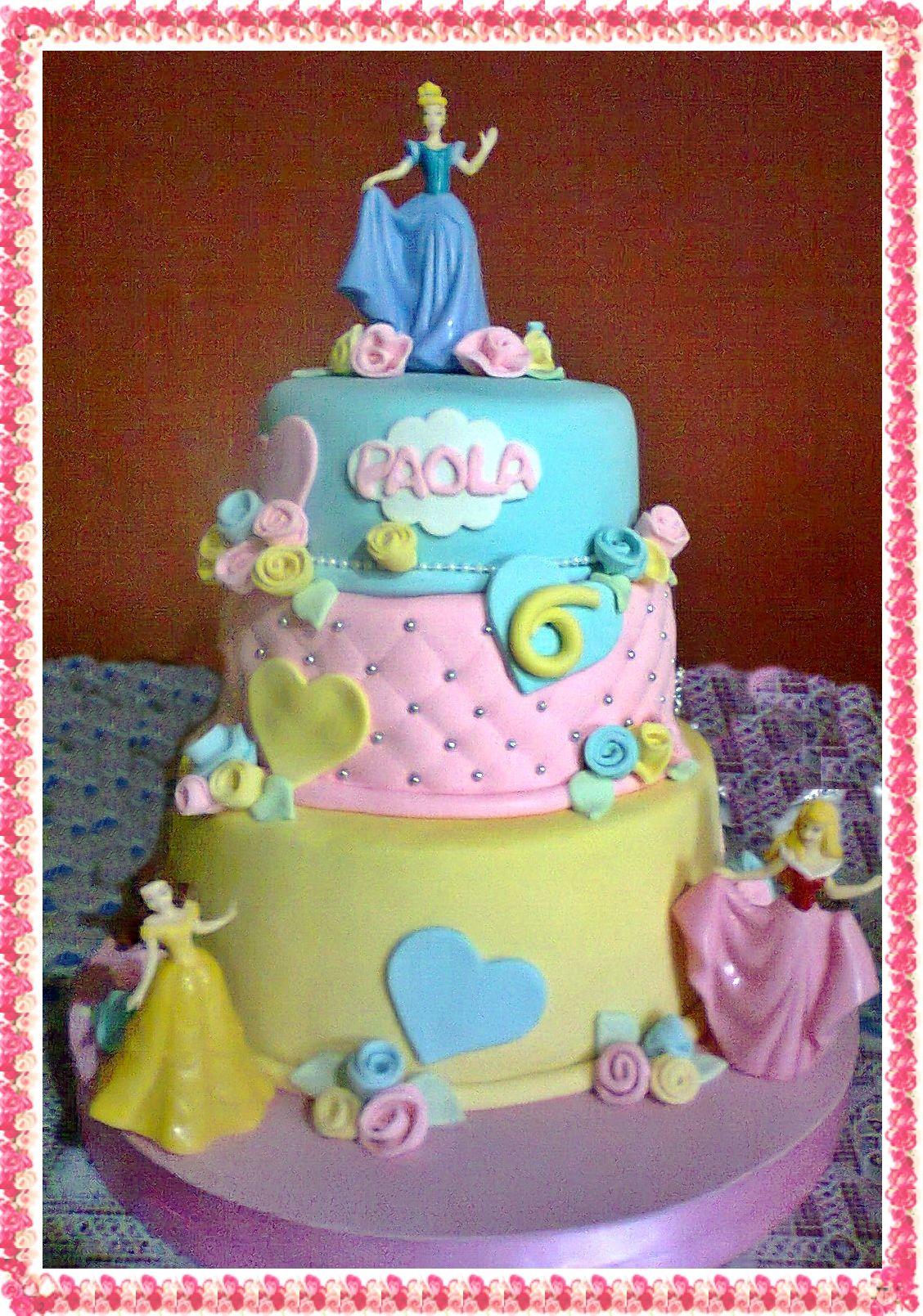 torta de princesas disney | tortas | Pinterest | Princesa disney ...