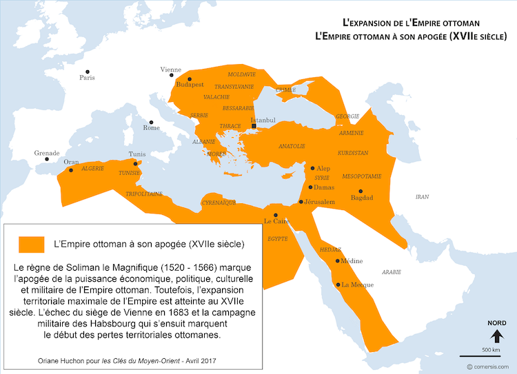 carte de l empire ottoman Tavardon Paul (tavardonp) sur Pinterest