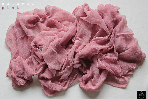 natural pink - dye from avocado skins. From ...