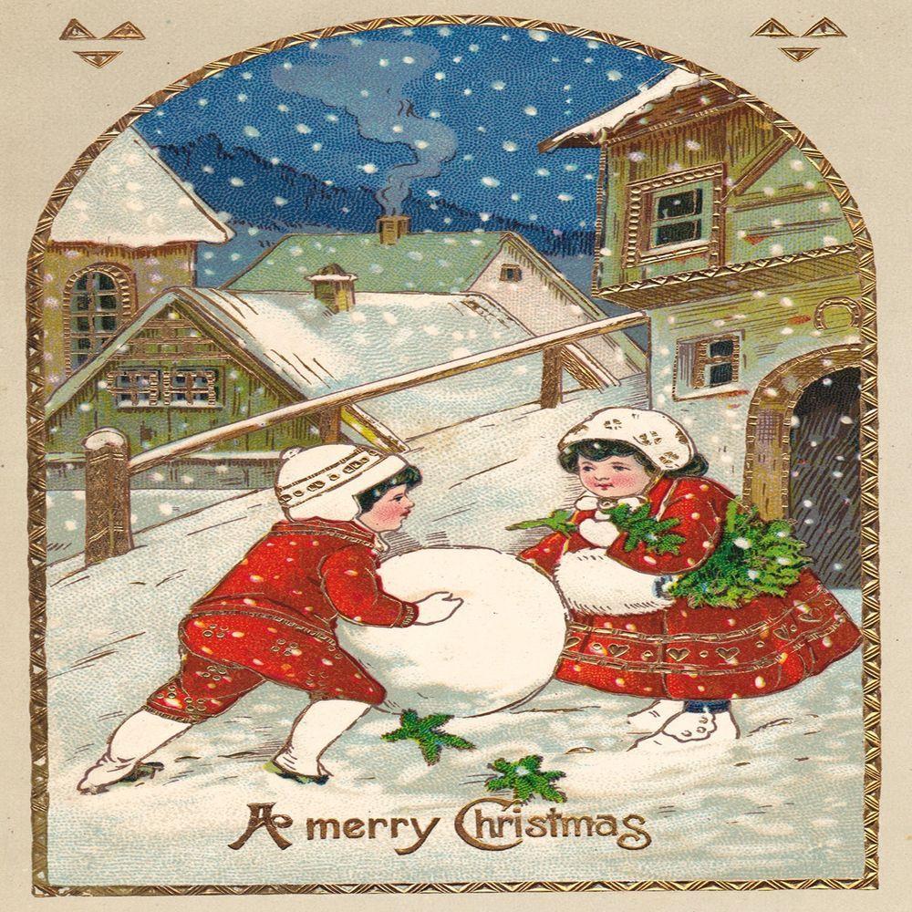 Pin on Christmas Santa Claus children gifts angel reindeer