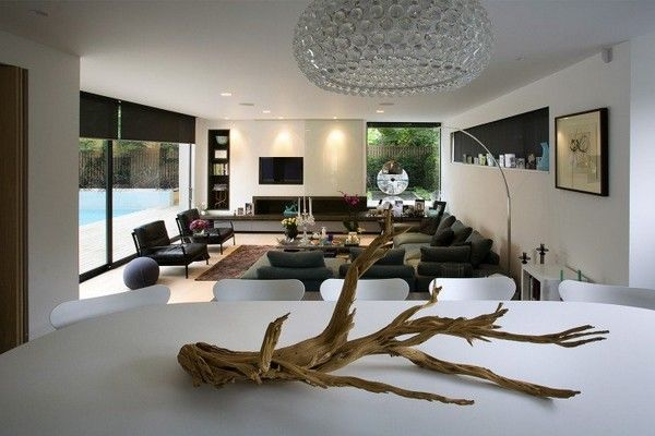 Note high recess in wall Lounge Pinterest Contemporary, North