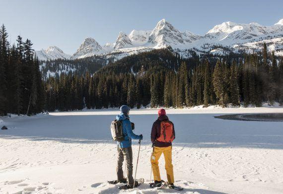 Photo of Chasing Winter Adventure in the East Kootenay Rockies of British Columbia • Snowshoe Magazine