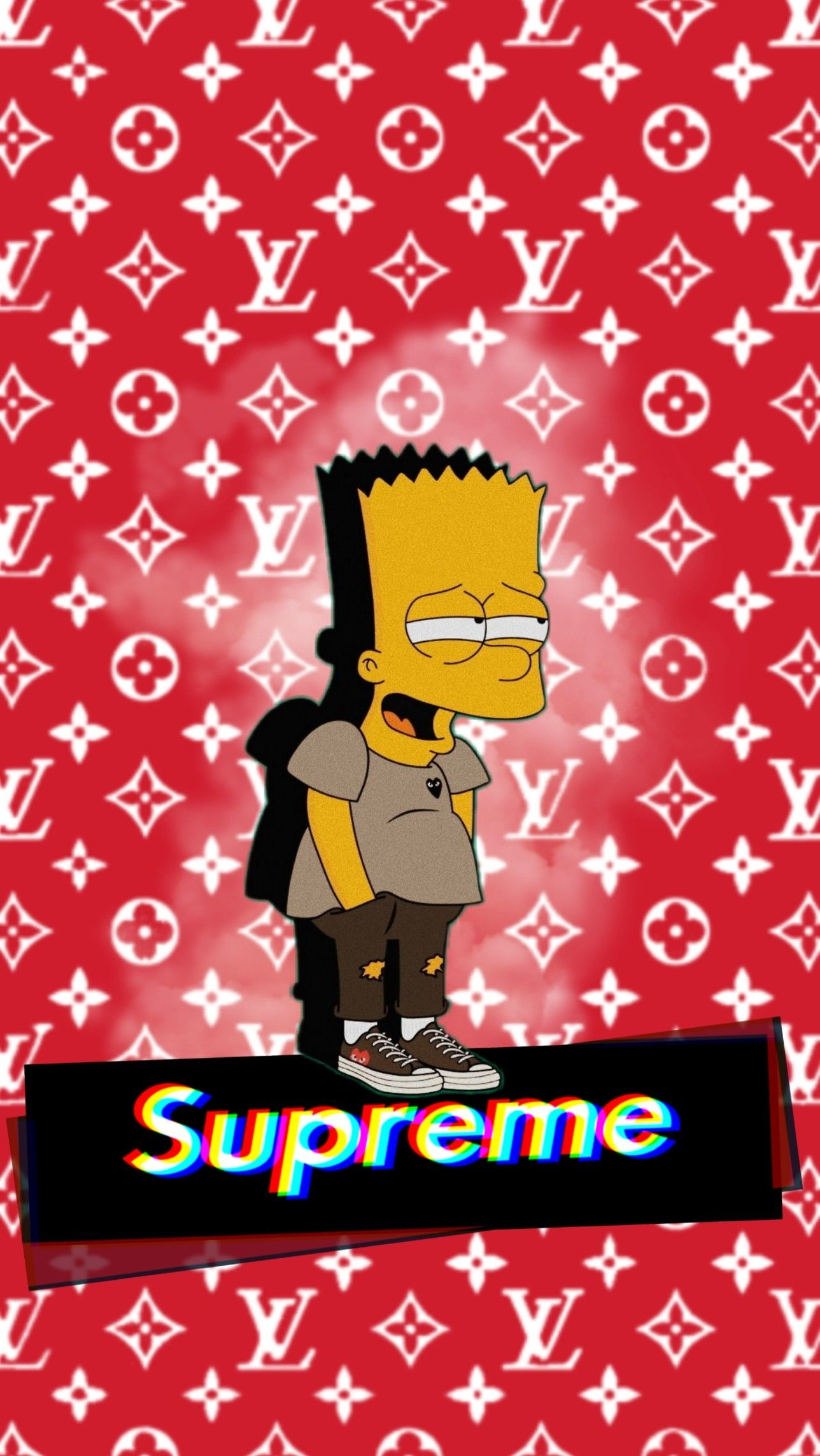Supreme Wallpaper Cartoon Wallpaper Iphone Simpson Wallpaper Iphone Supreme Iphone Wallpaper