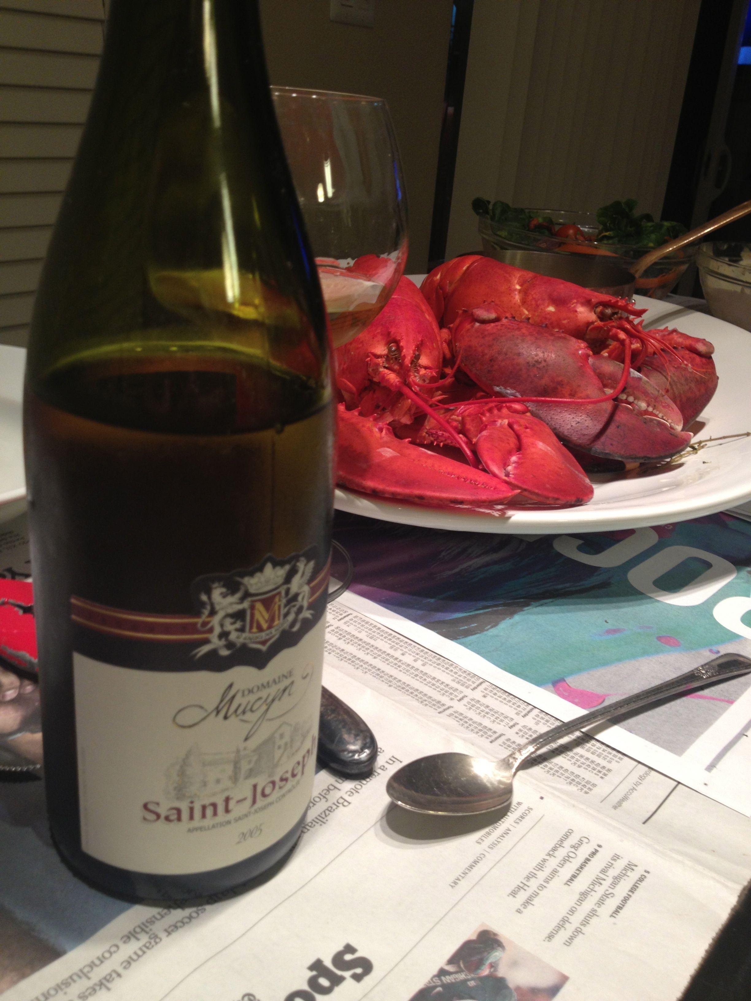 Lobster Season Begins Sustenance Lobster Season Alcoholic Drinks Wine