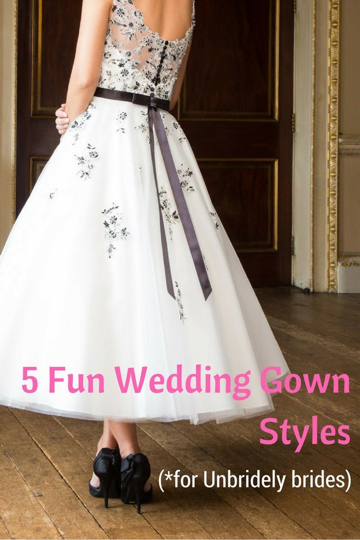 fun wedding gown styles for unbridely brides grecian goddess