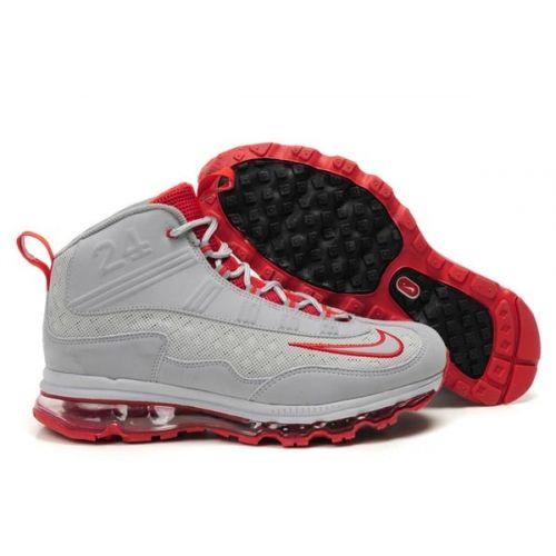 new product 451d1 76818 Ken Griffey Jr Shoes 2011   griffins shoes 2011 grey red ken griffey jr