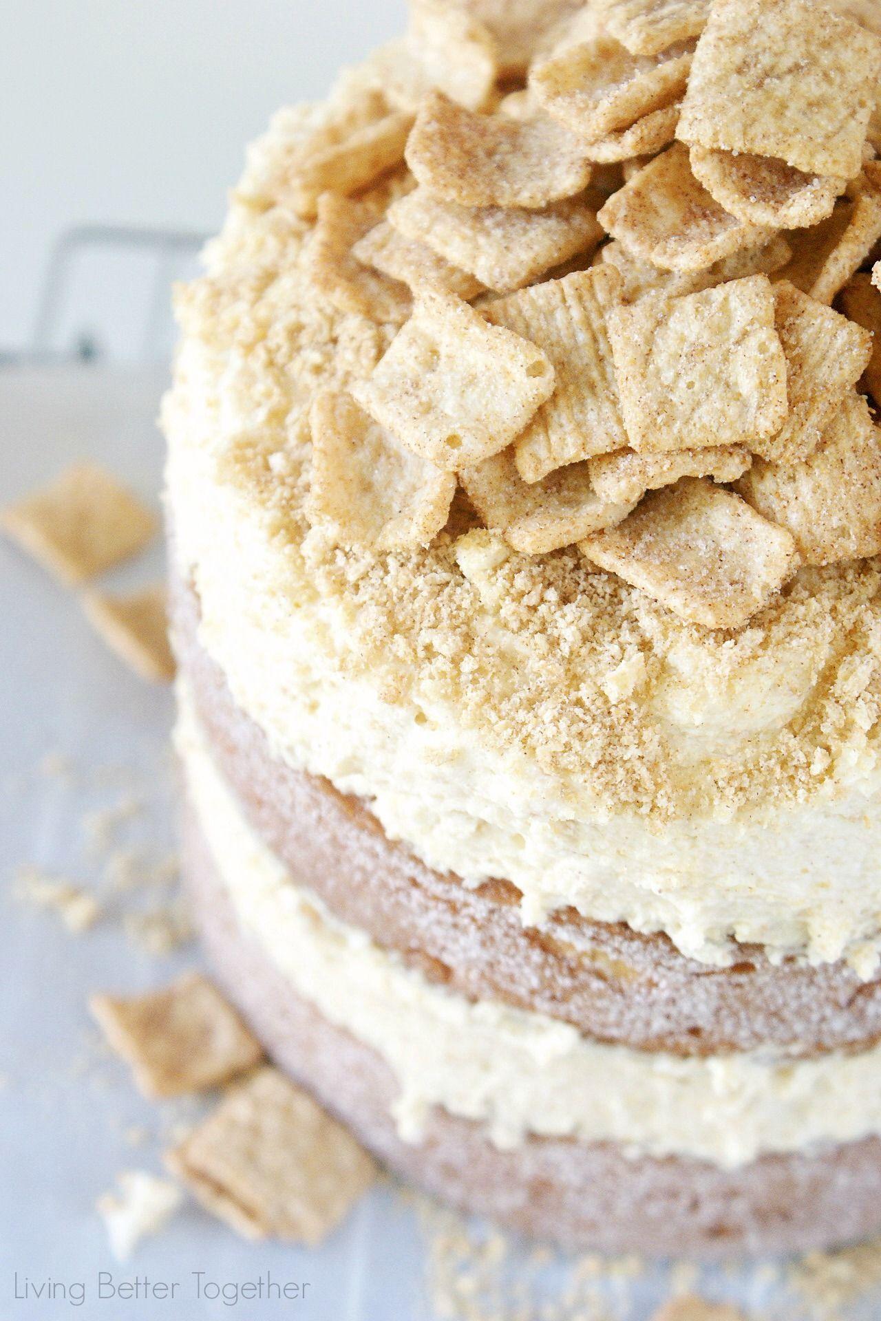 Cinnamon toast crunch cake living better together food