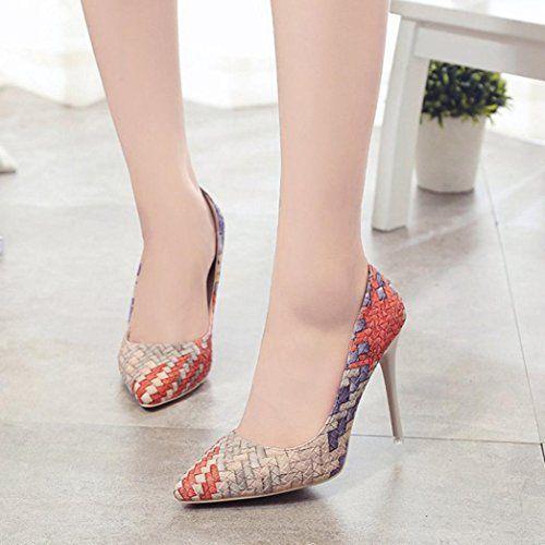 c0afb7086771 DENER Womens Ladies Girls High Heels Shoes