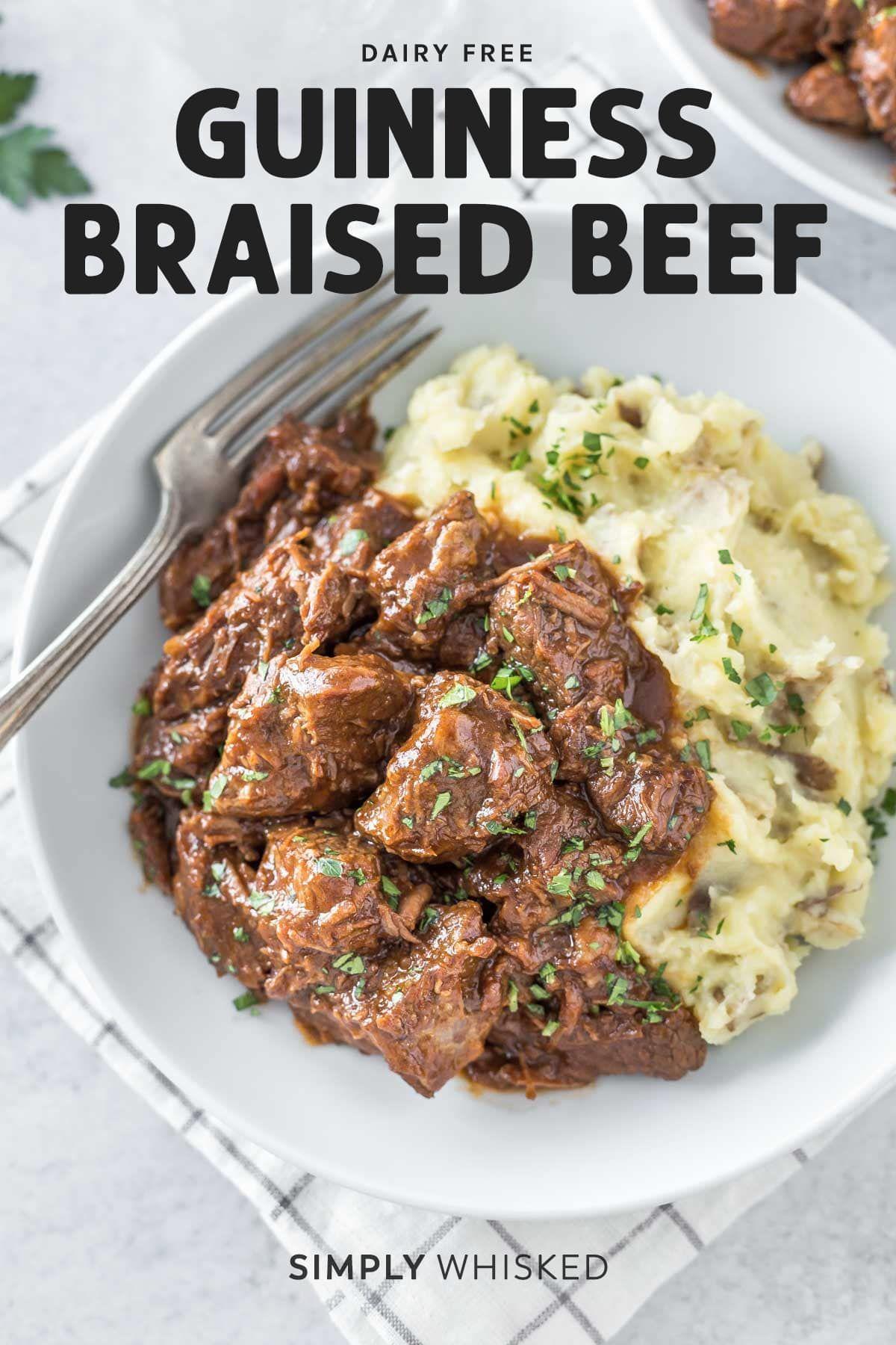 Guinness Braised Beef Recipe Braised Beef Recipes Braised Beef Beef Recipes