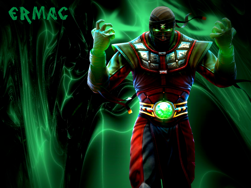 Ermac Mk Wallpaper By Scorpion Fan Mk Mr Wpa Mortal Kombat