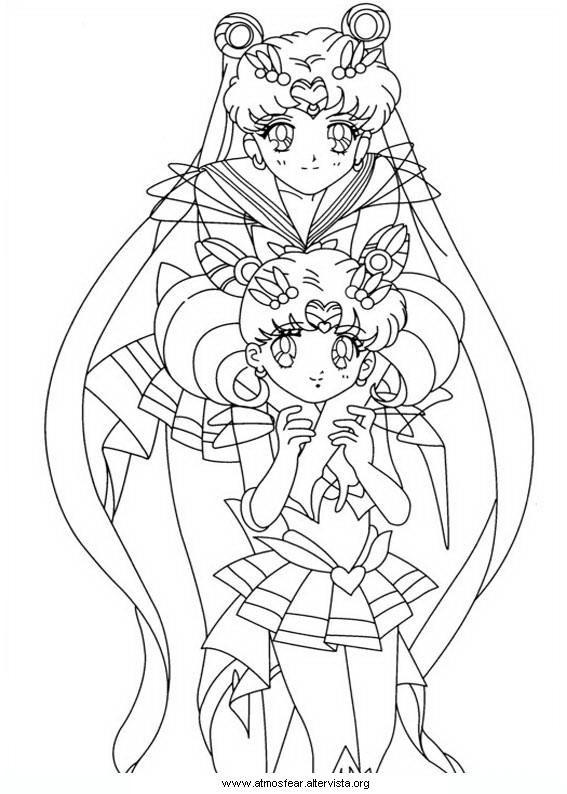Disegni Da Colorare Sailormoon For Printing Sailor Moon