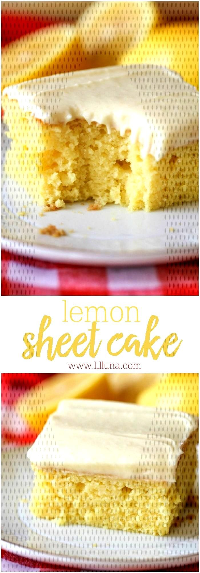 If youre looking for an easy lemon cake recipe, look no further! This super moist and delicious Le