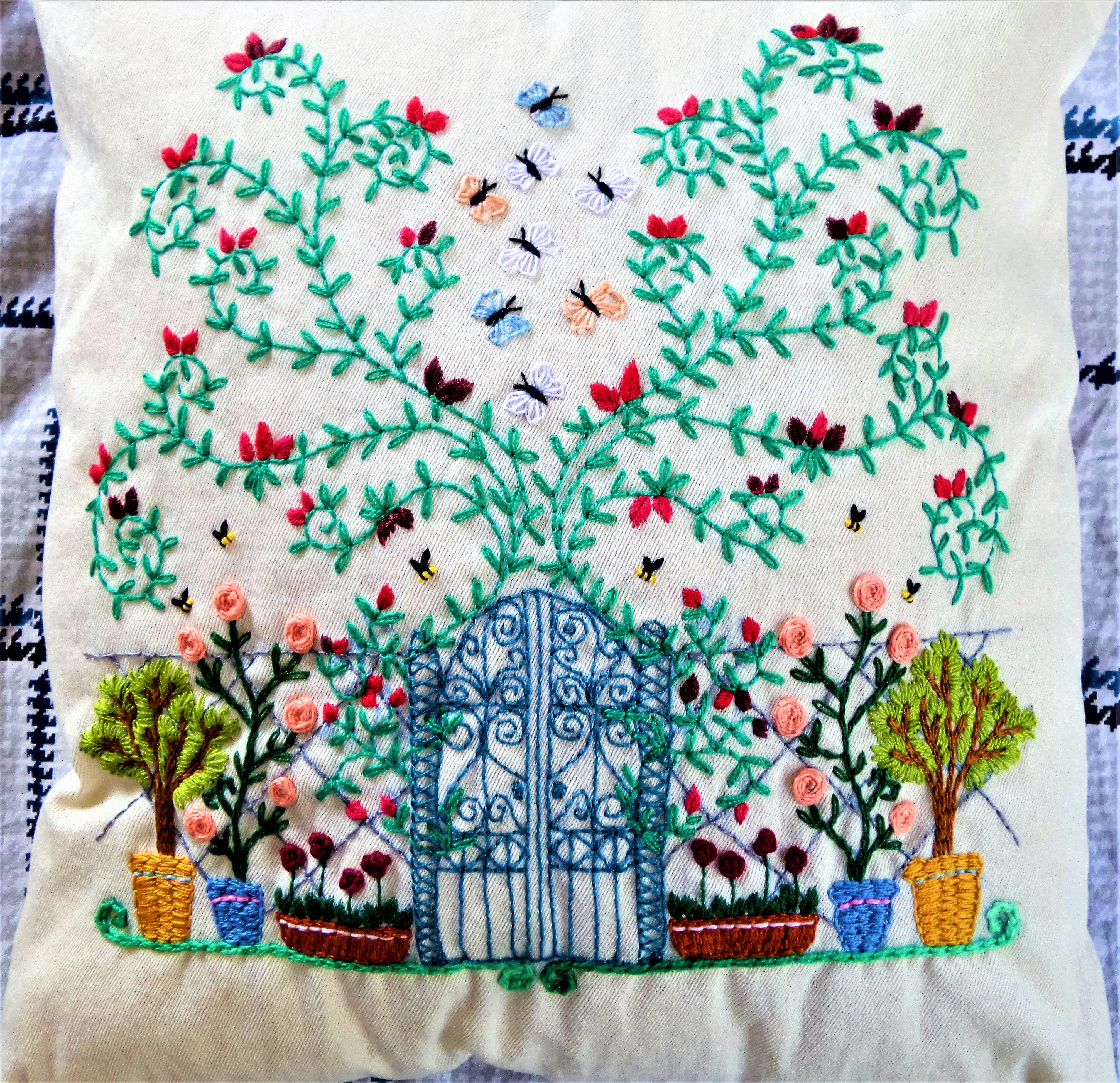This Is Darling Needles Pulling Thread Pinterest Embroidery
