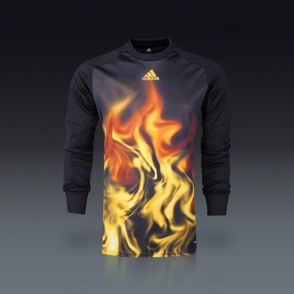 adidas Flame Long Sleeve Goalkeeper Jersey