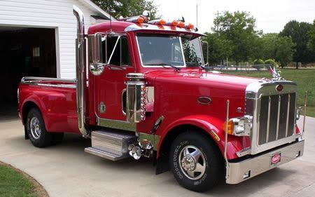 A 379 Peterbilt Cab On A Ford F 350 Frame And Bed Description