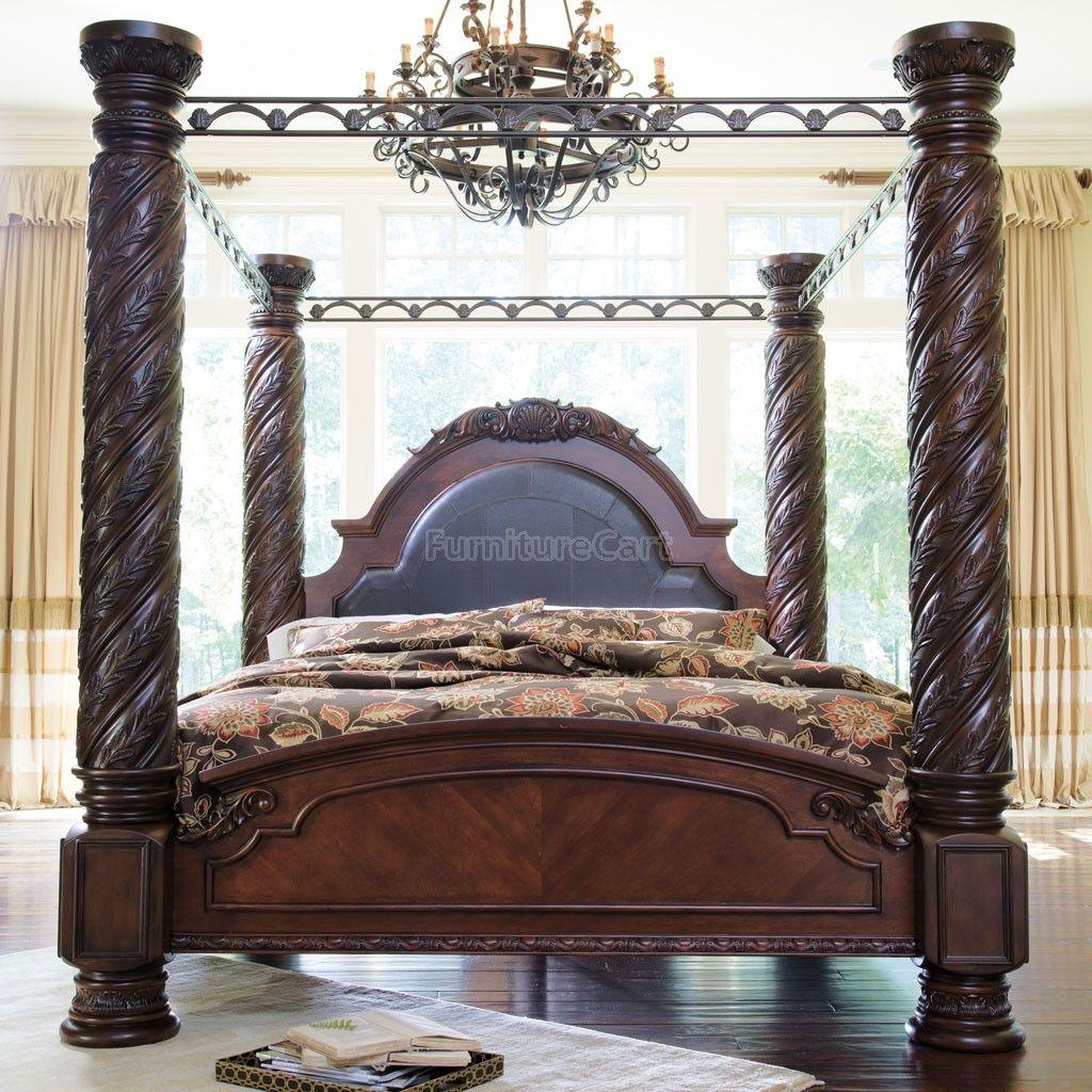North Shore Canopy Bedroom Set Millennium Furniture Cart