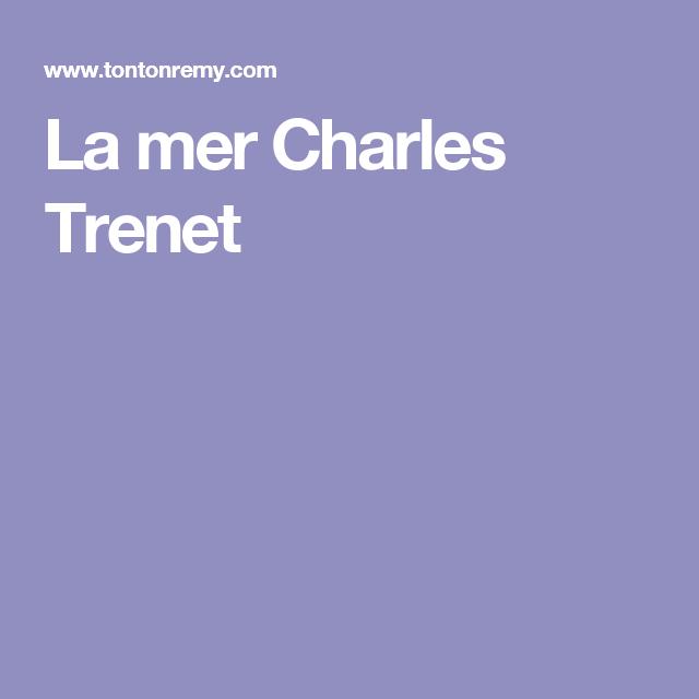 La Mer Charles Trenet Music For Ukulele Pinterest Ukulele