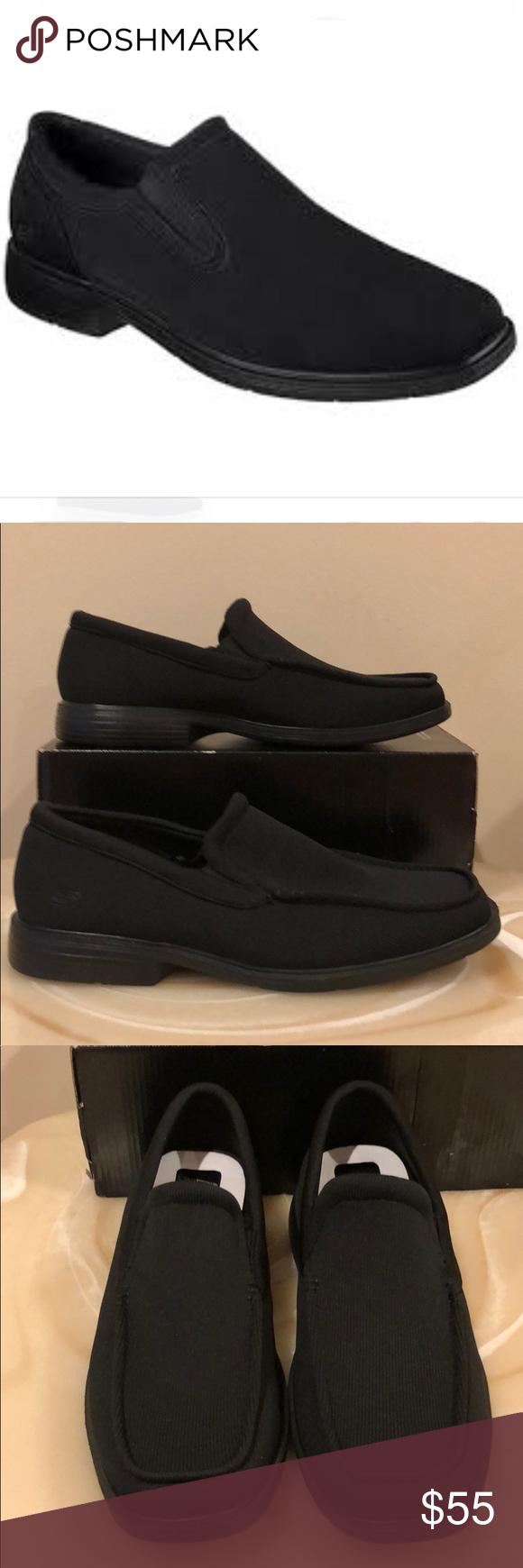 skechers dress shoes with memory foam