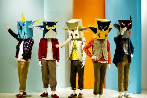 disfraces-caseros-3 OWL CARDBOARD MASK