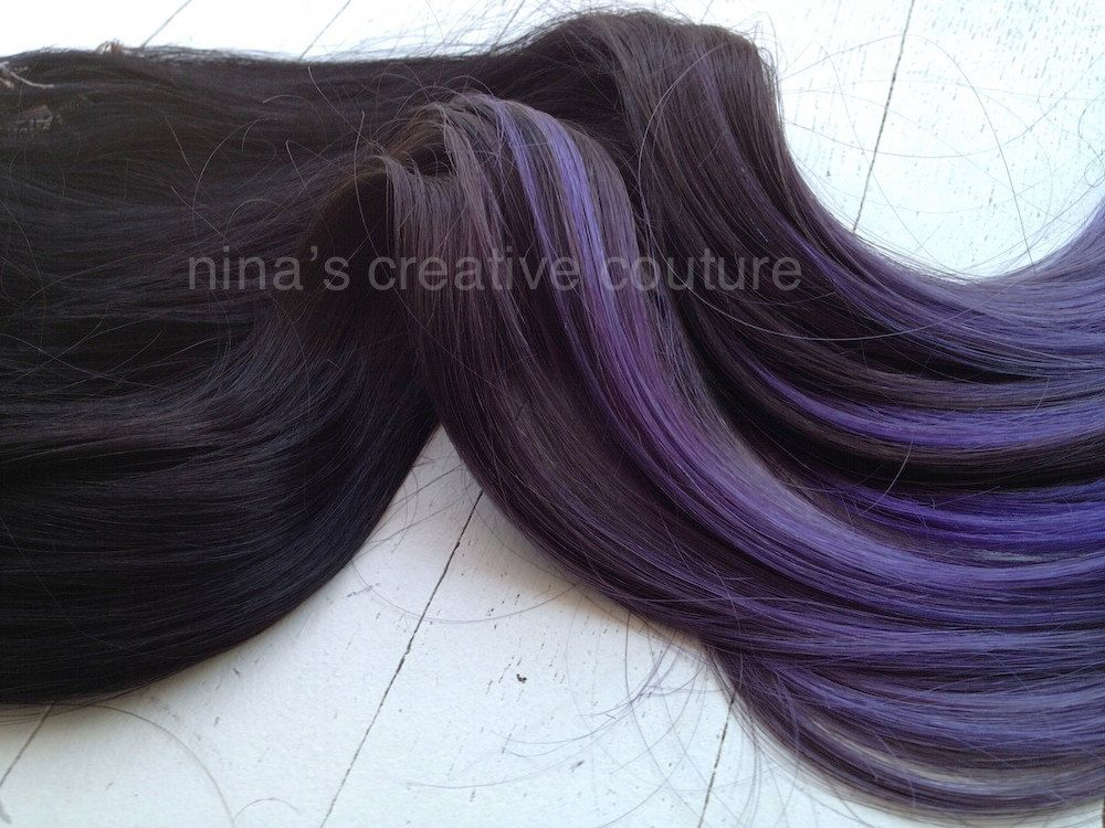 Katy Perry Inspired Dark Brown Ombre Hair Extensions With A Slow