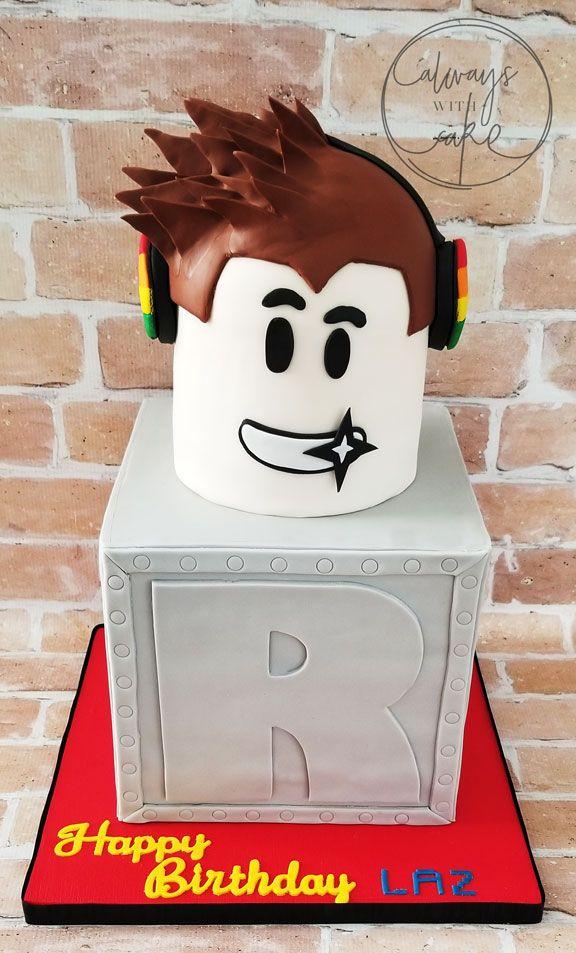 Roblox Cake Fiesta De Cumpleanos Minecraft Fiesta De Cumpleanos