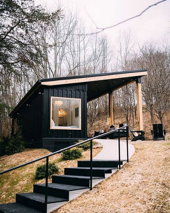 The Lilypad | A Cozy Container Vacation Home