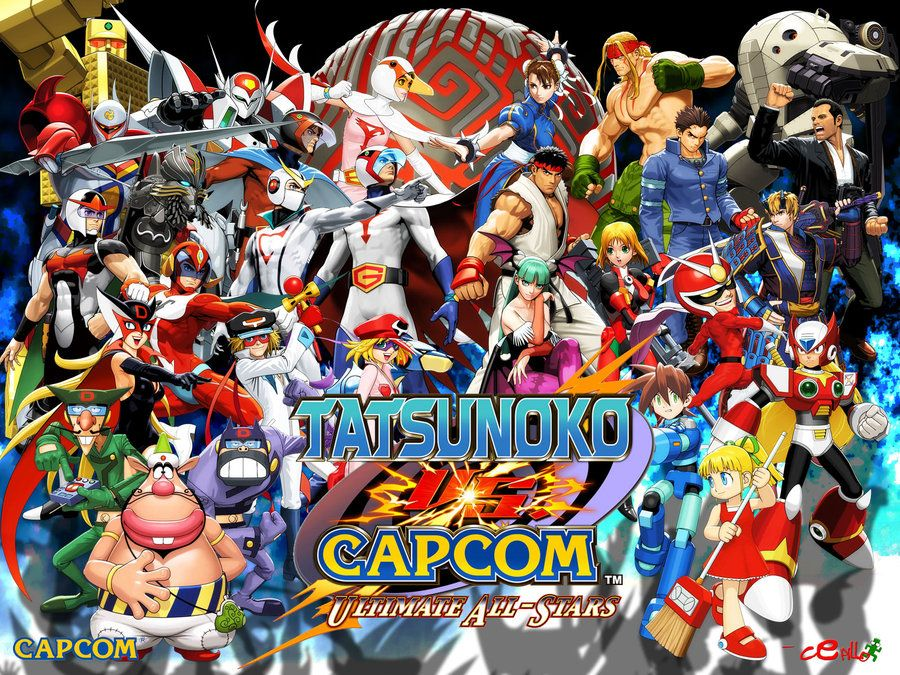 Tatsunoko Vs Capcom Wallpaper By Cepillo16 Deviantart Com On Deviantart Capcom Cel Gamer 4 Life