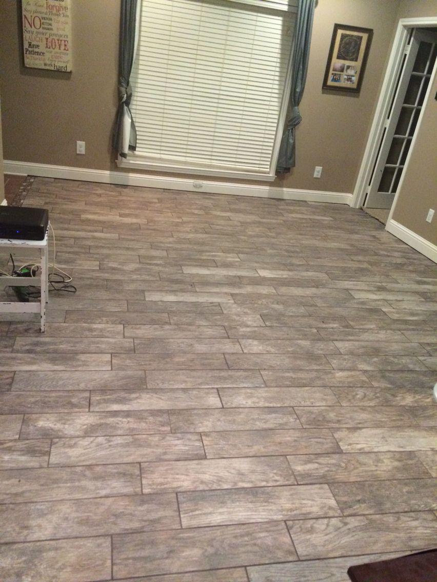 Factory supplier wholesaler non-slip porcelain wood design floor tiles and wall tiles. Rustic Bay Tile Floor Flooring Country House Decor Dining Room Floor