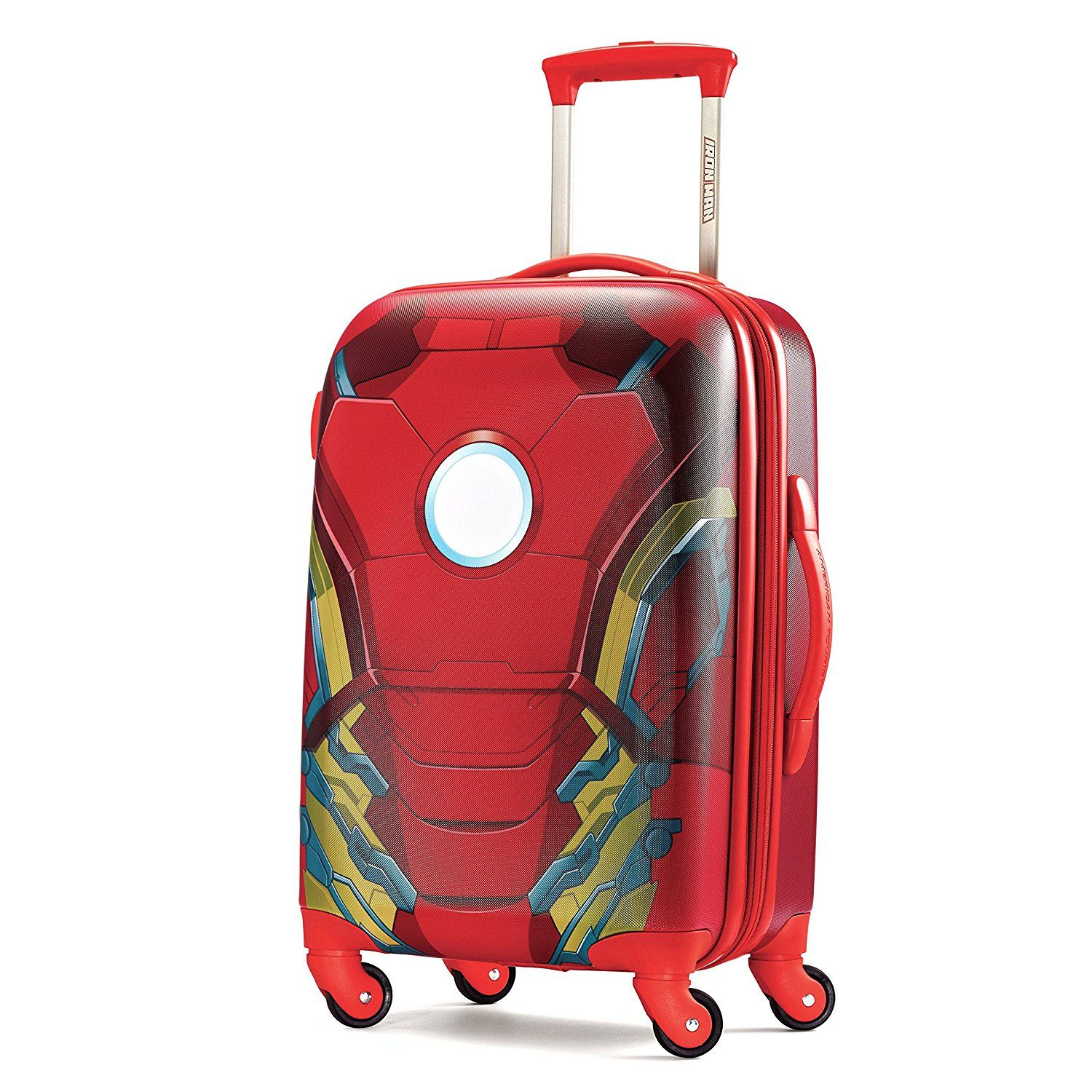 American Tourister Marvel 21 Inch Spinner Carry On Luggage Iron Man You Can Get More Details By Clicking On The Iron Man American Tourister Carry On Luggage