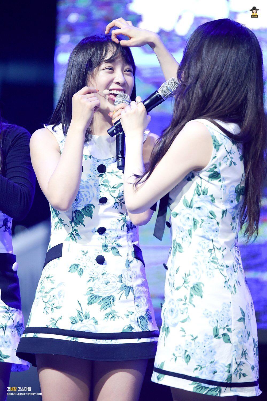 Kim Sejeong and Hana❤ Gugudan Kim Sejeong