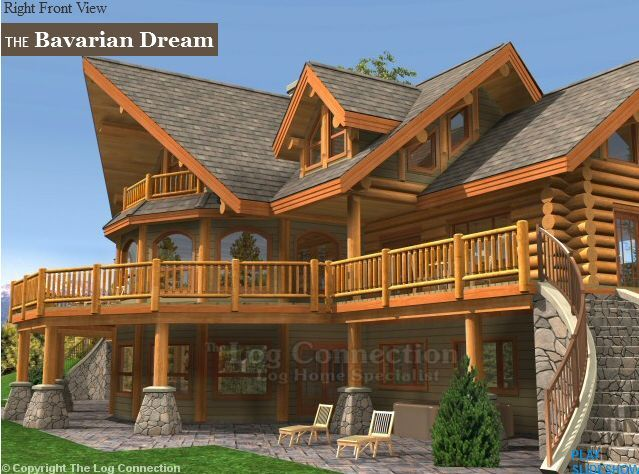 Pin By Roxanne Moon On De Toate Pt Meme Log Homes Log Homes Exterior Luxury Homes Dream Houses