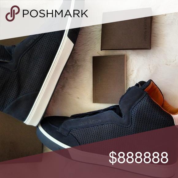 4c393678a22 🆕️Louis Vuitton Men's Sneaker Boot, Speaker Louis Vuitton Men's ...