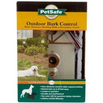 Outdoor bark control for the pups that just  bark to bark
