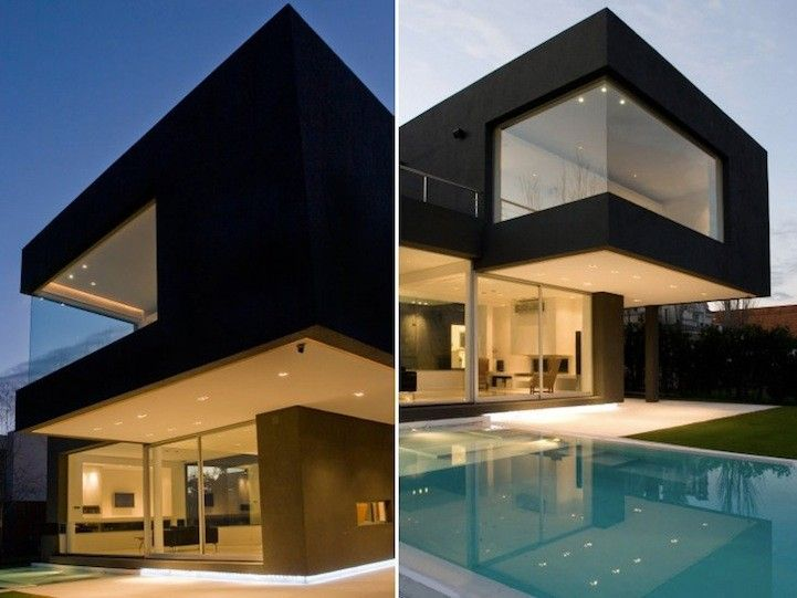Modern black house touchey design magazine ideas and inspiration