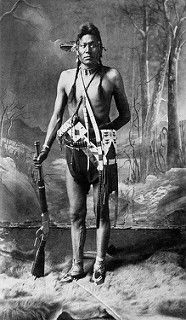 Photo of Joseph, Blackfoot Man