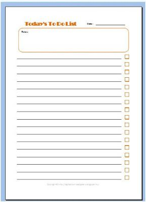 Download Free To Do List in Excel File