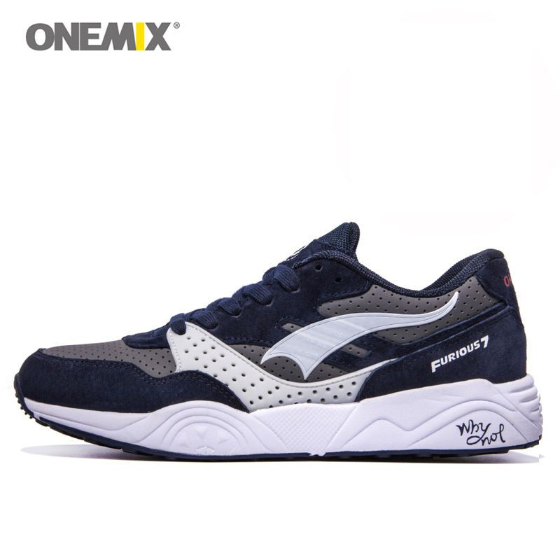 Onemix Brand Original Men Running Trainer Sport Shoes Max Man Athletic Sneakers Retro Walking Runner 6 Color Running Shoe Brands Running Trainers Running Shoes