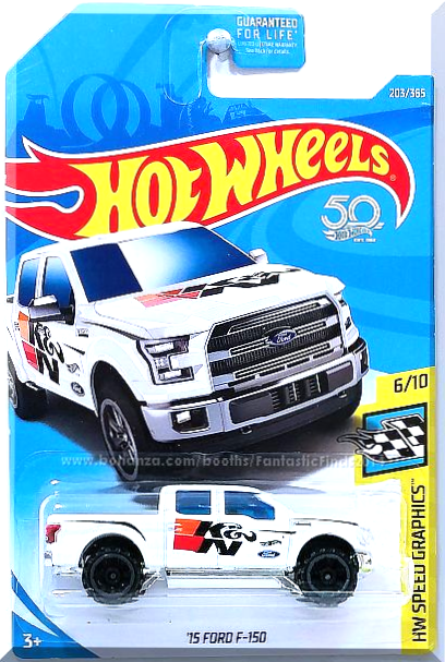 Hot Wheels 15 Ford F 150 Hw Speed Graphics 6 10 203 365