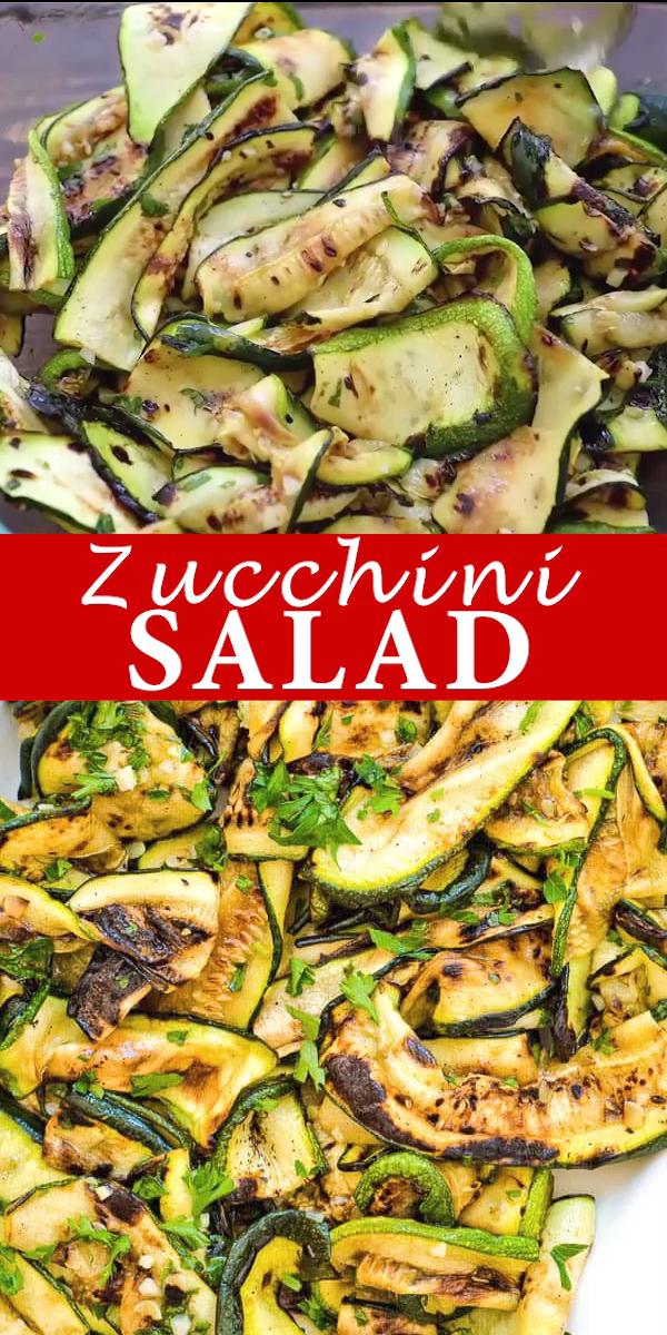 Photo of Roasted Zucchini Salad